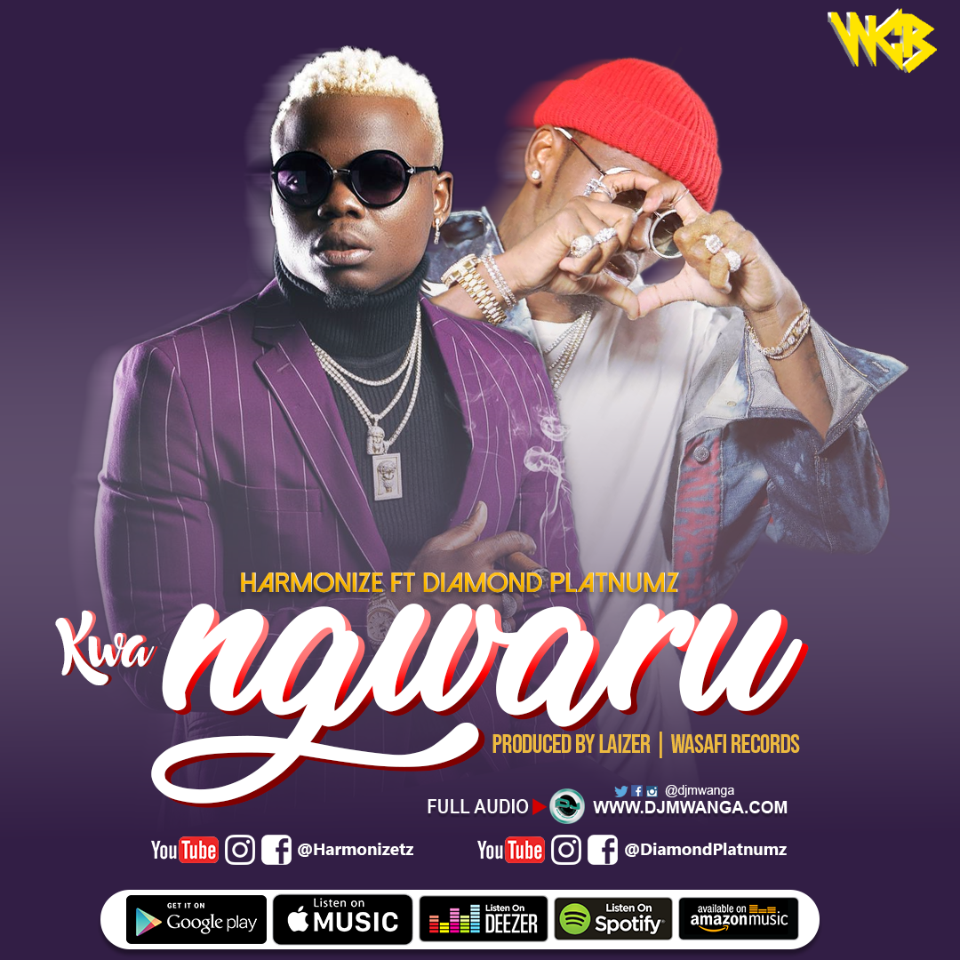 Kwangwaru (Ft Diamond Platnumz) by Harmonize - AfroCharts