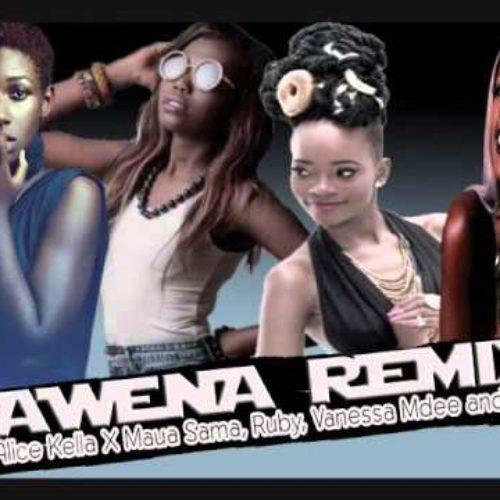 Awena Remix (Ft Ruby, Maua Sama, Vanessa Mdee)